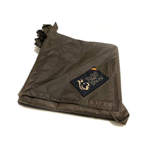 BUSHCRAFT SPAIN OILSKIN TARP MOUNTAIN BROWN