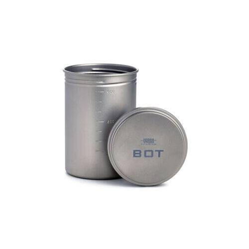 Vargo BOT' Bottle Pot titanium